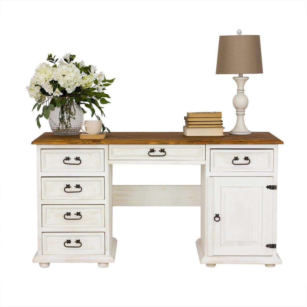 biurko woskowane do gabinetu