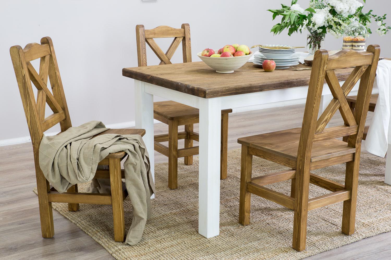 solidne krzesla drewniane do kuchni