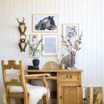 drewniany fotel sosnowy do biura
