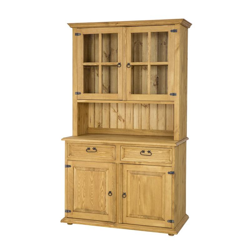 Drewniany kredens woskowany VIT105 SLIM
