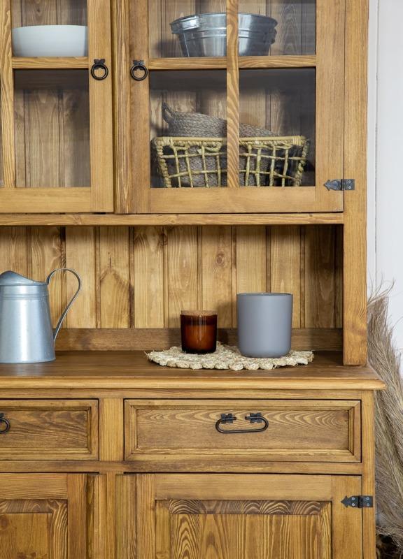 kredens kuchenny z litego drewna