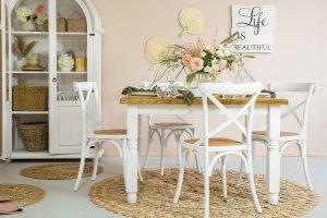 stół z litego drewna sosnowego