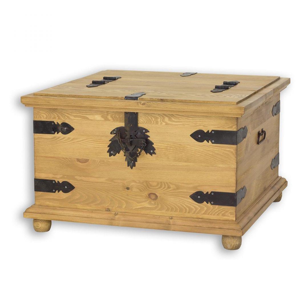 Kufer z drewna COS06