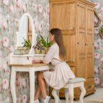 drewniana toaletka rustykalna tol 02