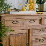 komoda drewniana woskowana