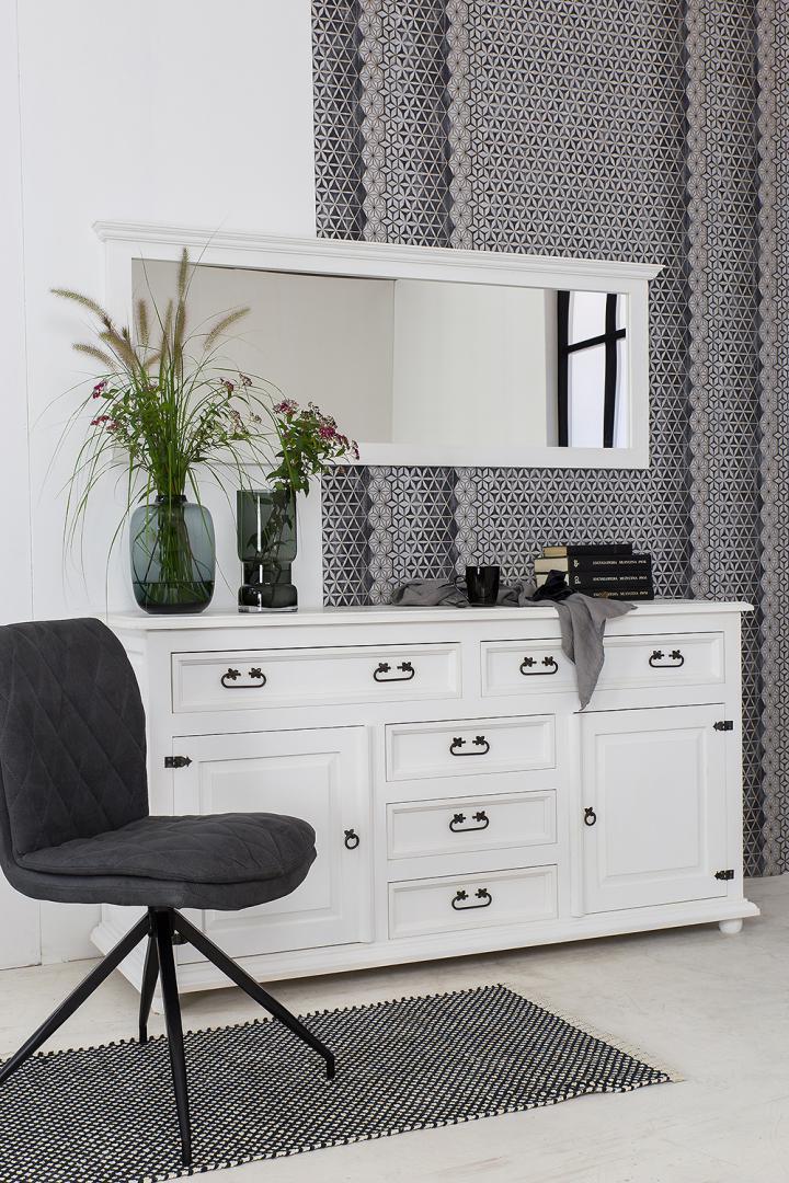 białe meble do nowoczesnej sypialni