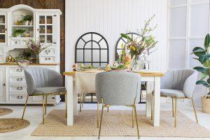 drewniany stół sosnowy do jadalni