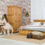 drewniana toaletka do sypialni meblo-wosk