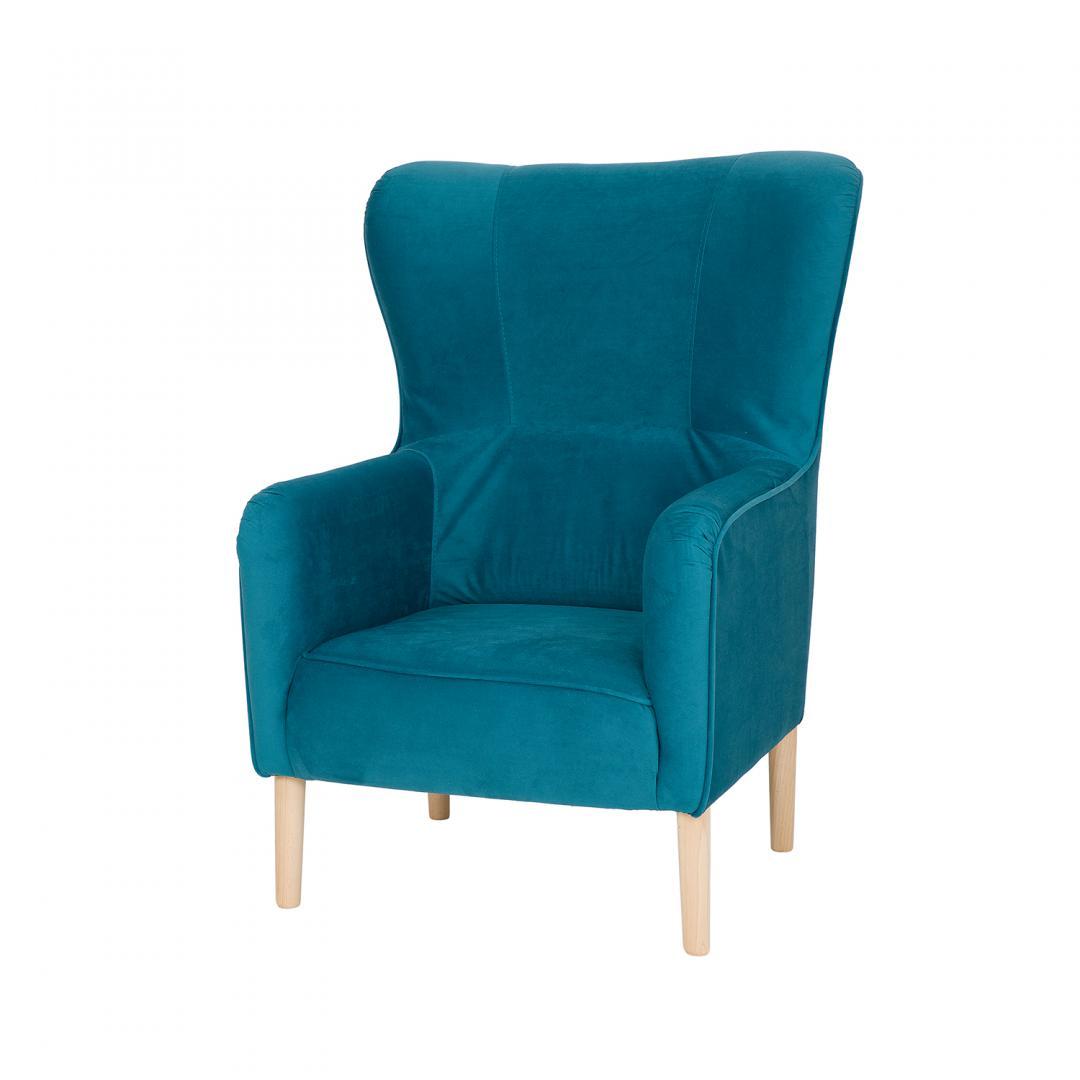fotel do salonu tapicerowany