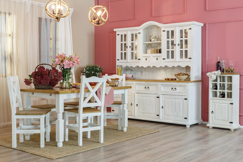 kolekcja bianco rustykalna jadalnia 003