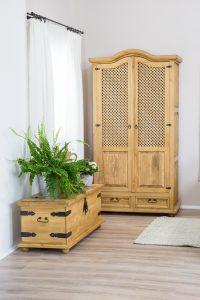 szafa drewniana do sypialni