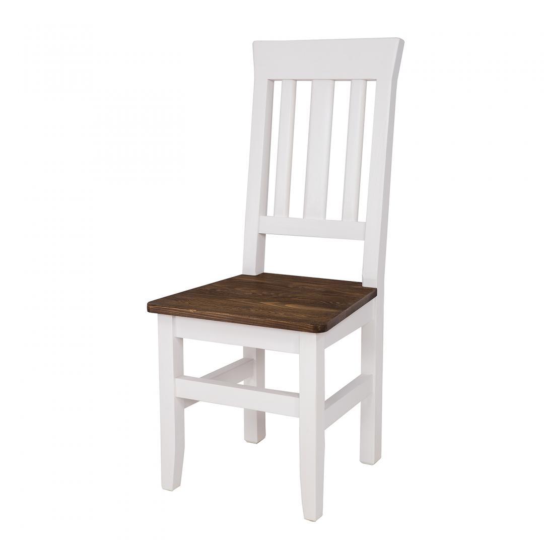 WYPRZEDAŻ - DOSTĘPNE OD RĘKI Drewniane krzesło skandynawskie SKN 04