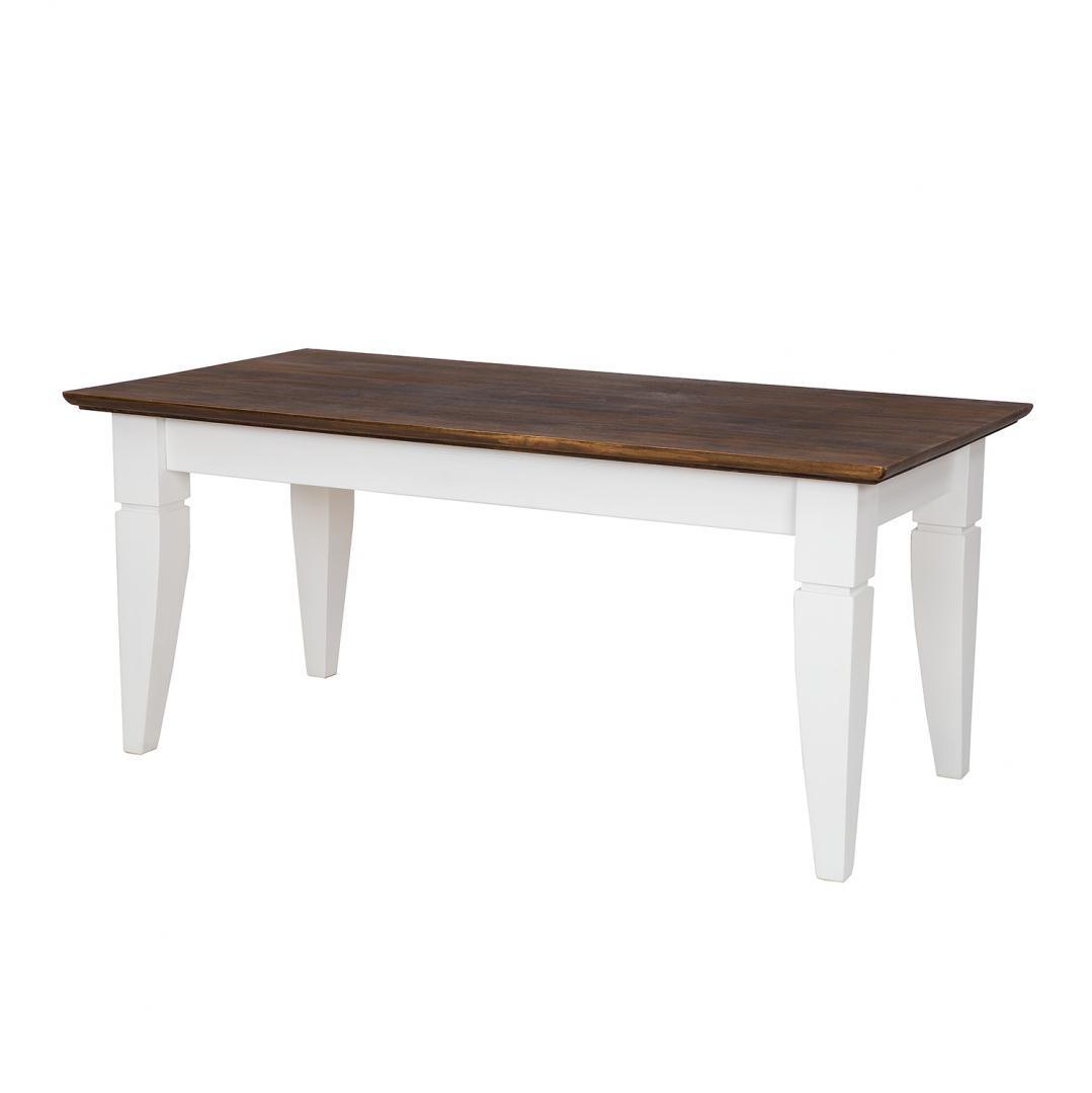Drewniana ława stolik do salonu SKN14 - WYPRZEDAŻ