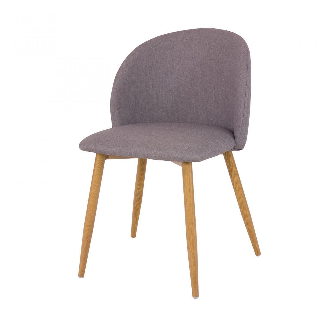 WYPRZEDAŻ - DOSTĘPNE OD RĘKI Krzesło tapicerowane SHELLY