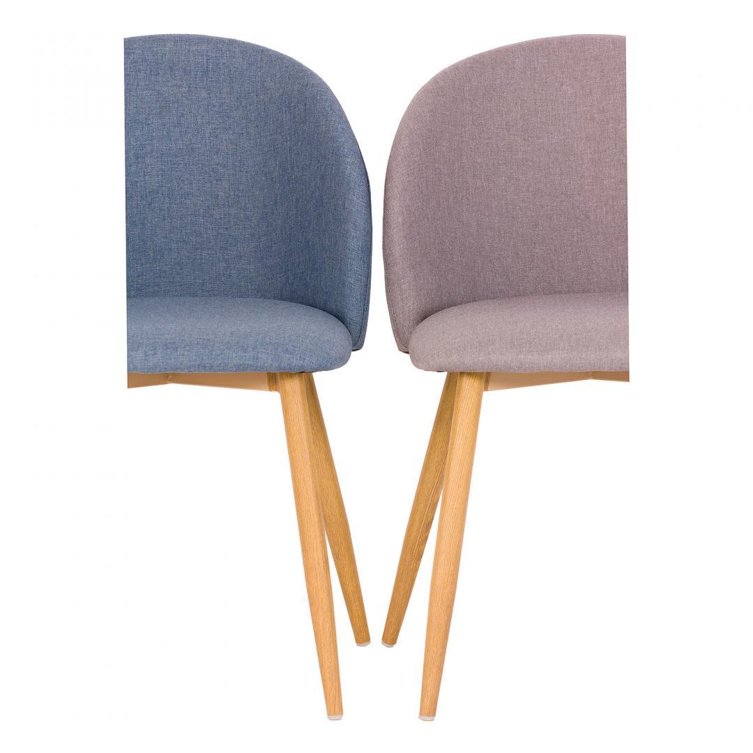 Krzesło tapicerowne SHELLY