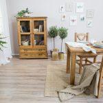 drewniane witryny przeszklone do jadalni