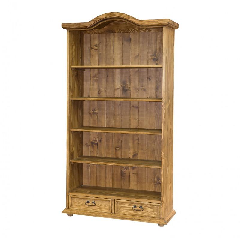 Drewniany regał do salonu REG105 slim