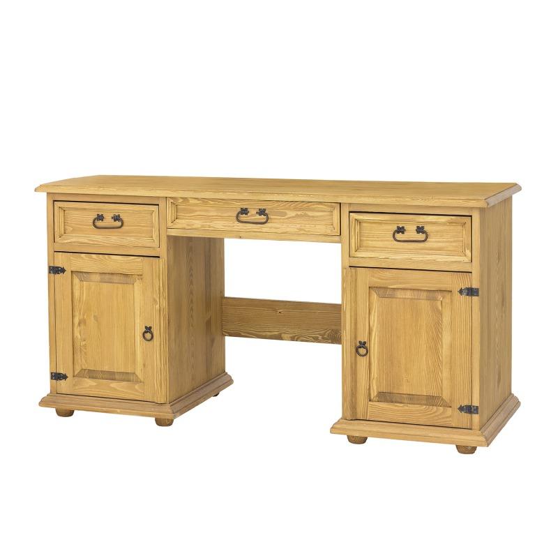 Drewniane biurko rustykalne BIK08