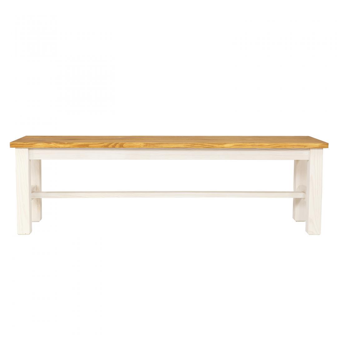 ławka drewniana do salonu
