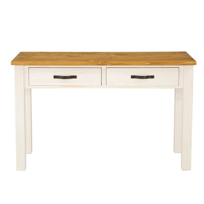 Drewniany stolik przyścienny SEL20 - STEEL