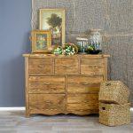 Meble woskowane z drewna sosnowego do pokoju i do salonu.