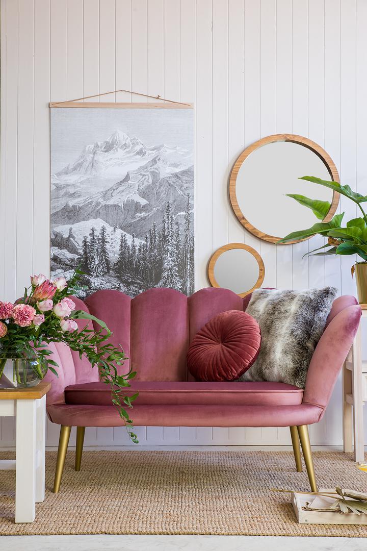 wygodna sofa rosalina w orginalnym kształcie