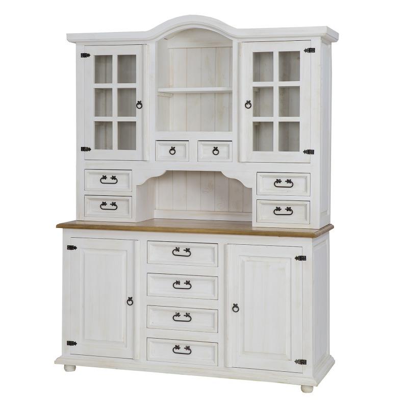 Drewniany kredens kuchenny VIT17 BIANCO