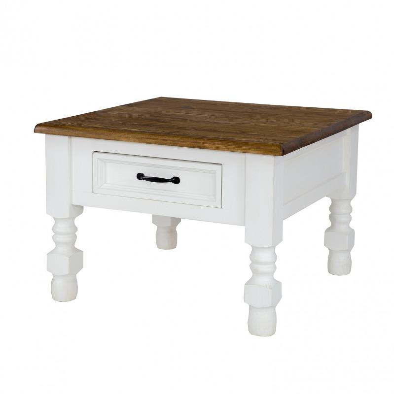 >> WYPRZEDAŻ<< drewniany stolik MES08 BIAŁY