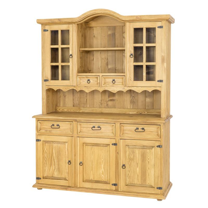 Drewniany kredens woskowany VIT101 SLIM