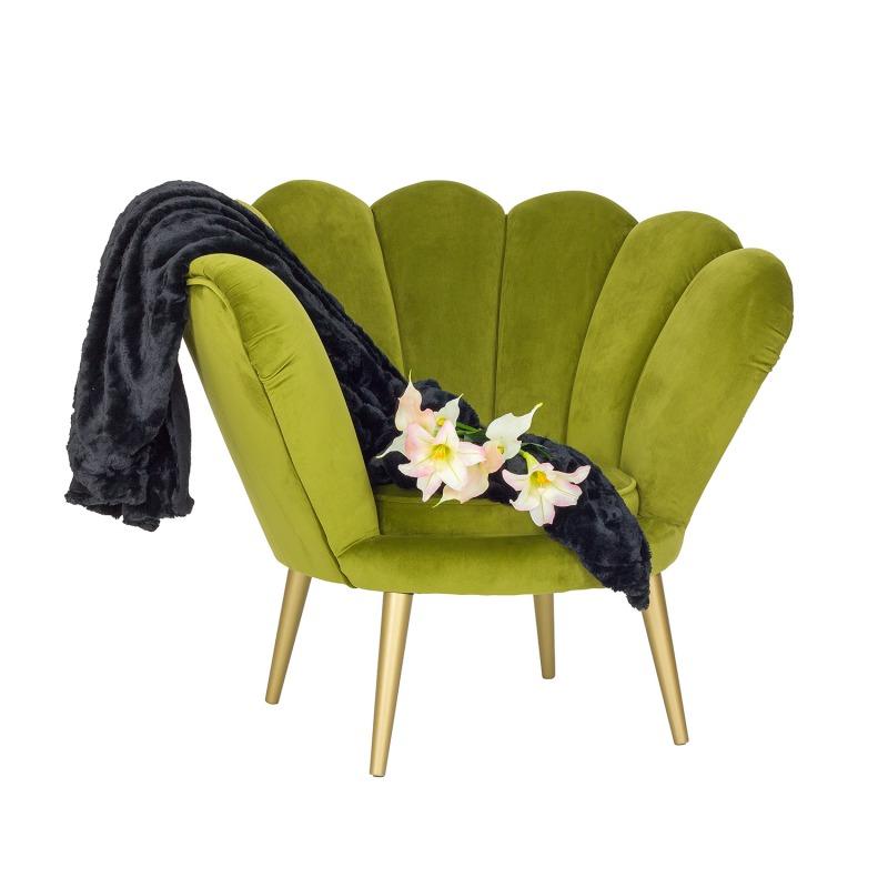 Fotel muszla Rosalina
