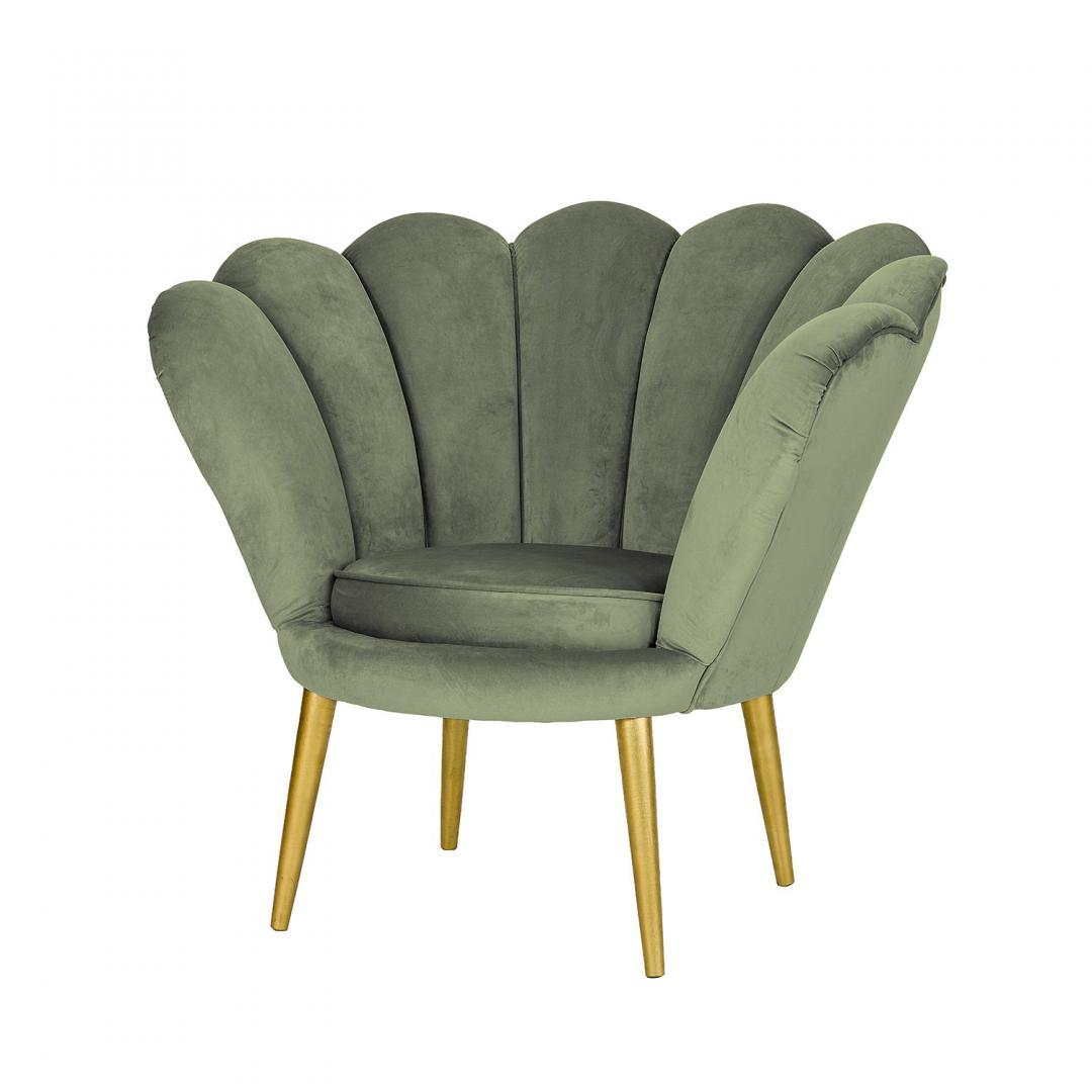 fotele do pokoju salonu odcienie zieleni
