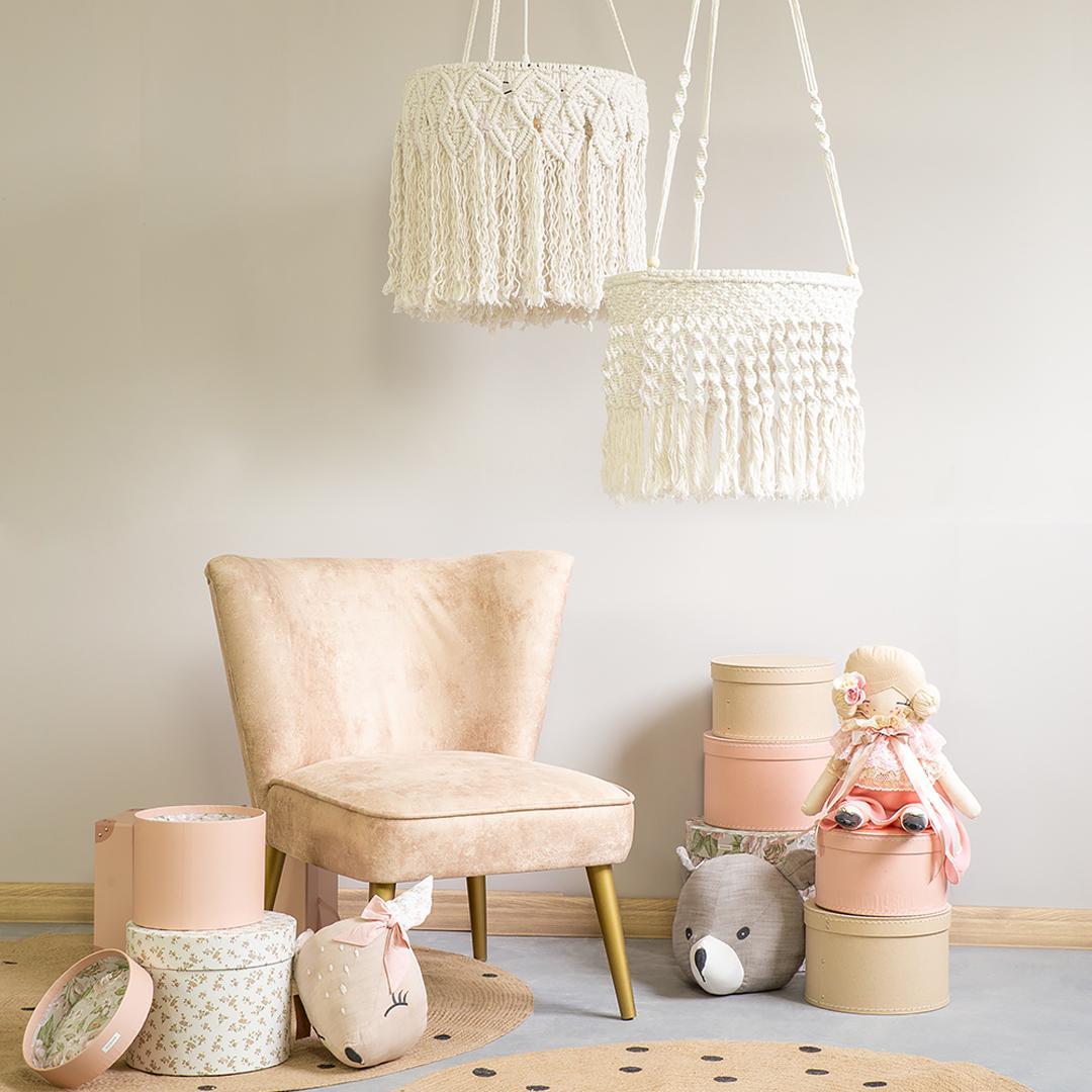 lampy sufitowe do pokoju w stylu boho