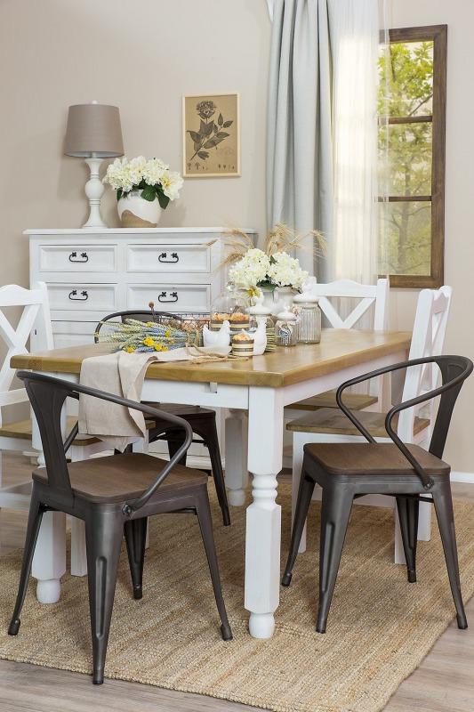 woskowany stół sosnowy do jadalni