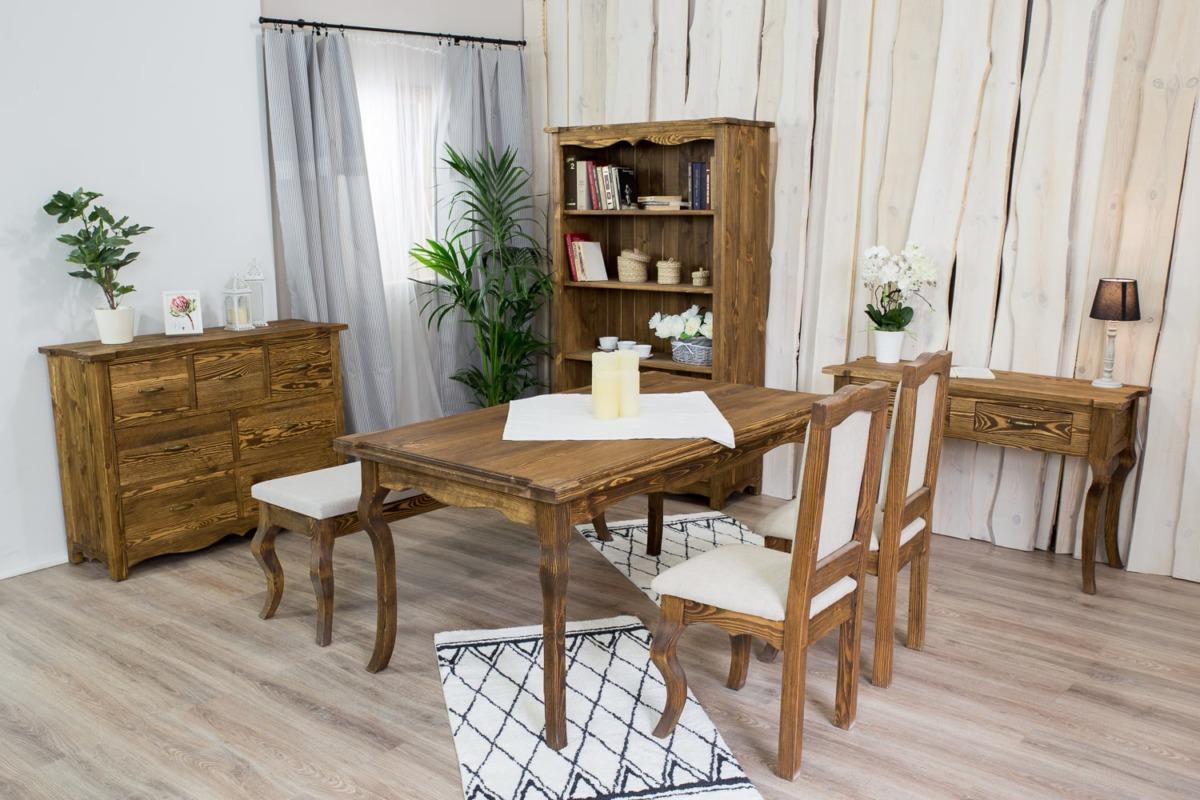 rustykalne krzesło z drewna od producenta
