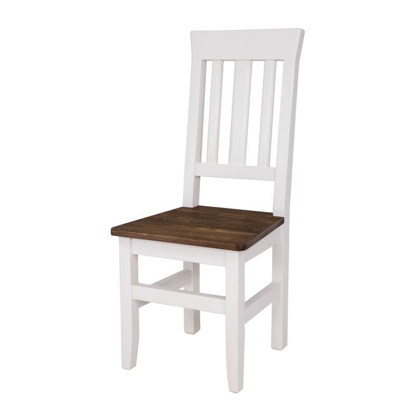 Białe krzesło skandynawskie SKN04