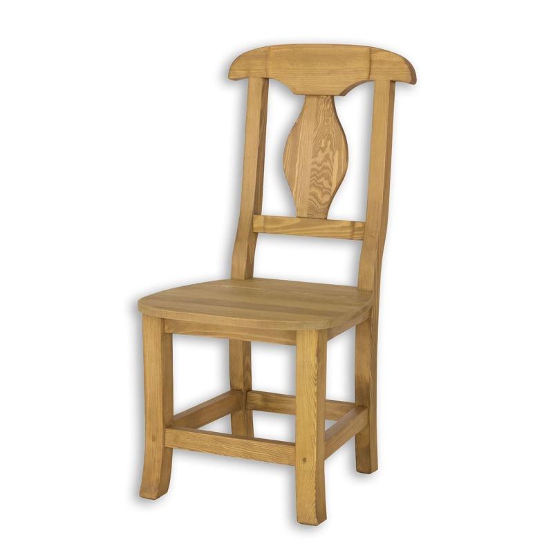 Drewniane krzesło do jadalni SIL03