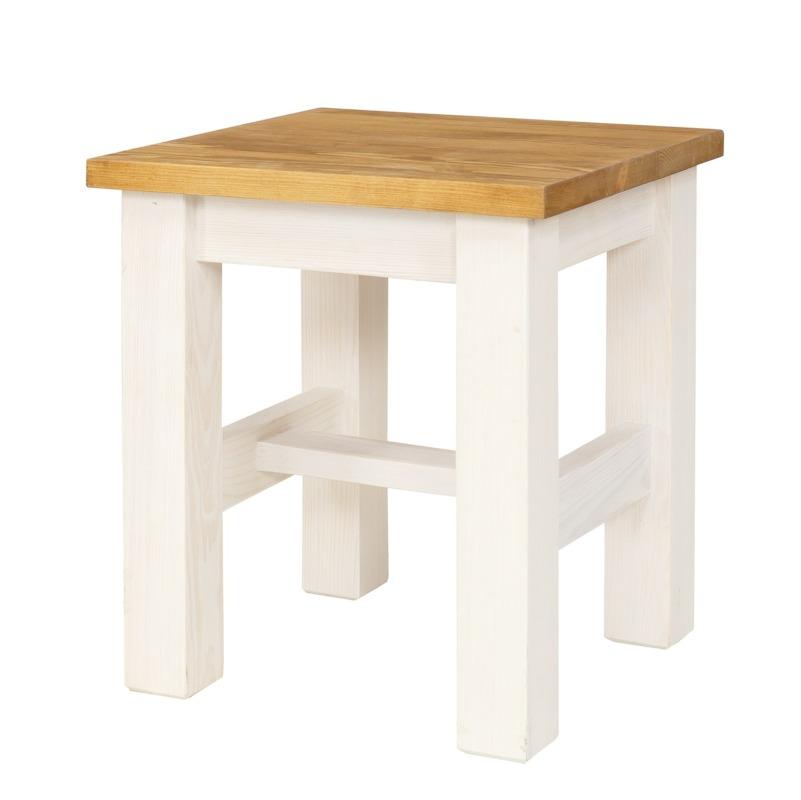 Drewniany taboret kuchenny SIL21