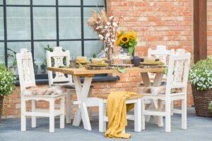 stoły drewniane kuchenne