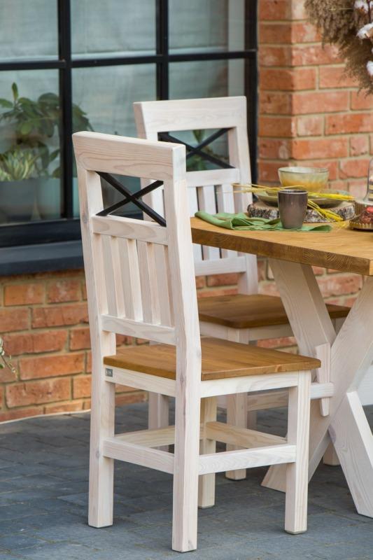 krzesło woskowane