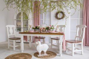 sosnowe krzesło kuchenne