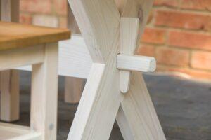 stół drewniany wiejski