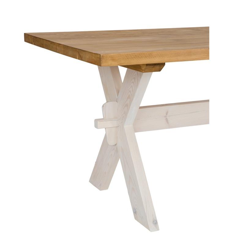 drewniany stół wiejski