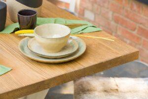stół sosnowy wiejski