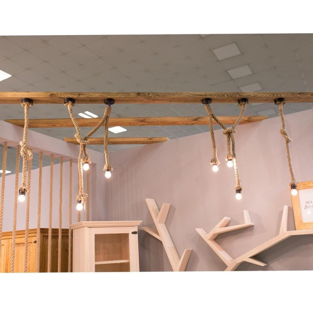 komplet lamp sznurowych