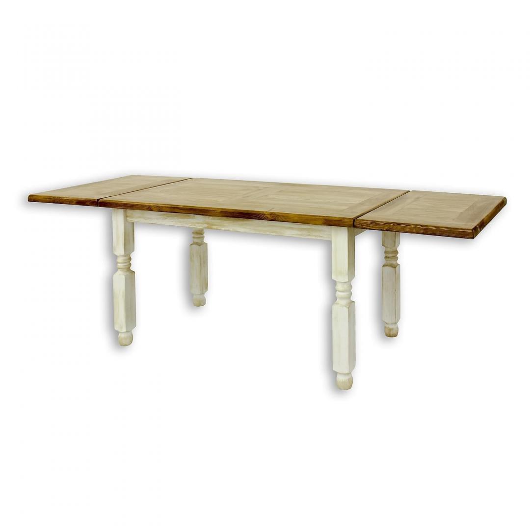 stół drewniany woskowany