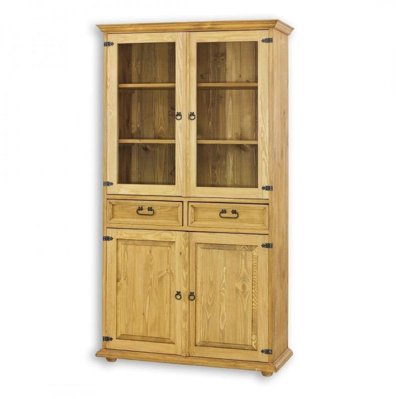 Drewniana witryna woskowana VIT13