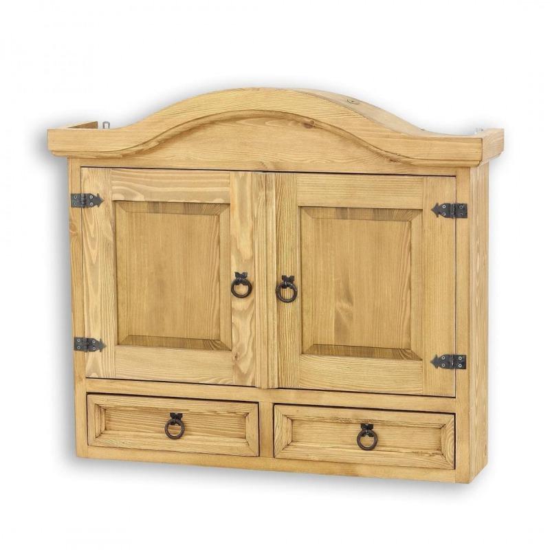 Drewniana szafka wisząca COS08
