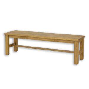 Drewniana ławka sosnowa woskowana