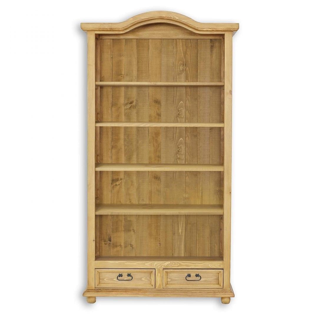 Drewniany regał do salonu REG05