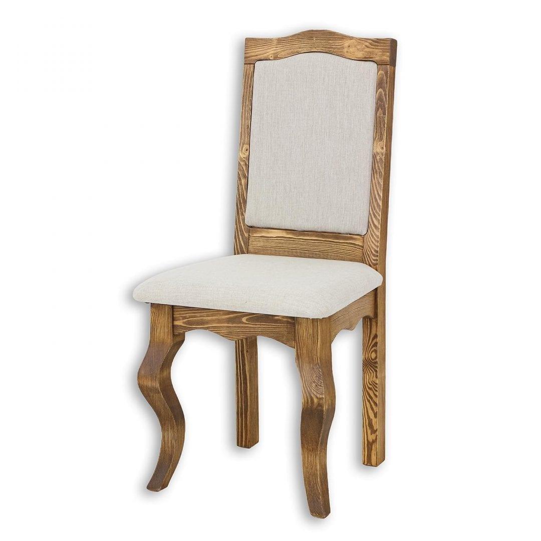 Drewniane krzesło tapicerowane LUD15 - COUNTRY